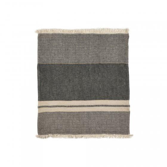 The Belgian Towel Fouta Tack stripe 110x180cm